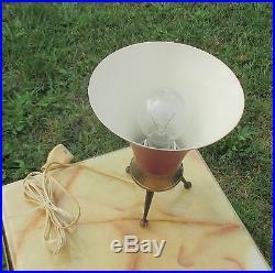 Retro Stilnovo Tripod Desk Table Lamp Mid Century Vintage 1950s Working Rare