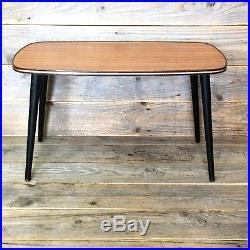 Retro Vintage Coffee Table Mid Century Formica 1960's Original