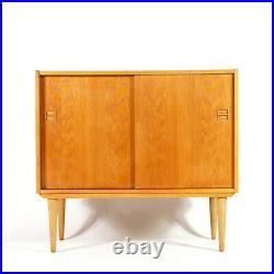 Retro Vintage Danish Design Oak Sideboard Hi-Fi TV Cabinet 60s 70s Mid Century