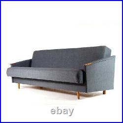 Retro Vintage Danish Design Teak Daybed Sofa Bed Studio Couch Mid Century 1960s