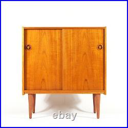 Retro Vintage Danish Design Teak Sideboard Hi-Fi TV Cabinet 60s 70s Mid Century