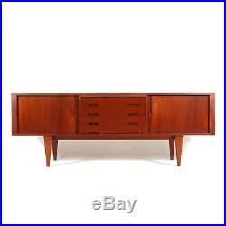 Retro Vintage Danish Large Teak Sideboard Cabinet 50s 60s 70s Mid Century Modern
