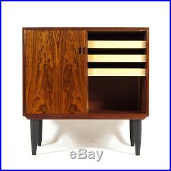 Retro Vintage Danish Mid Century Modern Rosewood Sideboard Cabinet 1950s 60s 70s