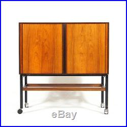 Retro Vintage Danish Rosewood Hi-Fi Drinks Cabinet 60s 70s Mid Century Trolley