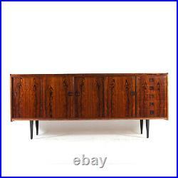 Retro Vintage Danish Rosewood Huge Sideboard TV Cabinet 1960s 1970s Mid Century
