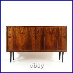 Retro Vintage Danish Rosewood Large Sideboard Cabinet 60s Mid Century Modern