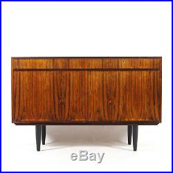 Retro Vintage Danish Rosewood Sideboard Cabinet 1950s 60s 70s Mid Century Modern