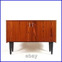 Retro Vintage Danish Rosewood Sideboard Hi-Fi Cabinet 60s 70s Mid Century Modern