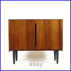 Retro Vintage Danish Rosewood Sideboard Record Cabinet 50s 60s 70s Mid Century