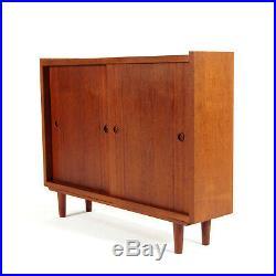 Retro Vintage Danish Teak Sideboard Cabinet 1960s 50s 70s Mid Century Modern
