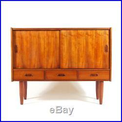Retro Vintage Danish Teak Sideboard Hi-Fi Cabinet 60s 70s Mid Century Modern 50s