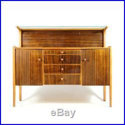 Retro Vintage James Phillips Walnut Cabinet Sideboard Mid Century 50s 60s Danish
