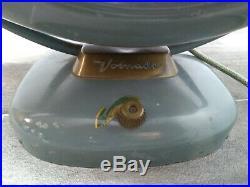 Rewired Vintage Vornado Fan A28C-1 Retro Atomic Electric Works Mid Century 18