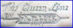 Robins Egg Blue Vintage Retro Mid Century Metal Stackable Canister set