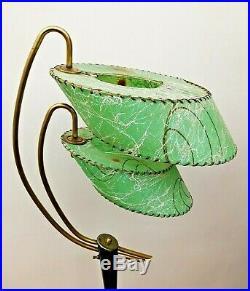 SCARCE Vtg 1950s ATOMIC Mid Century MOD Majestic/Guggenheim Retro FLOOR Lamp WOW
