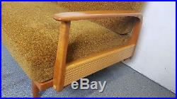 SOFA DAYBED Knoll Antimot SCHLAFSOFA Couch Mid Century Modern Vintage Retro 60er