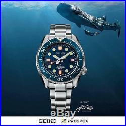 Seiko Prospex Blue SLA027 Ceramic Bezel 8L35 Zimbe Thailand Limited Edition 300