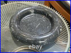 Sergio Asti Up&Up Atelier Vtg Italian Modern Marble Bowl Dish Vessel Italy Knoll