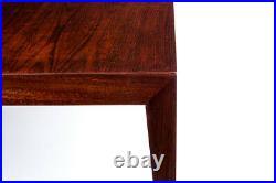 Severin Hansen Coffee Table Pair Rosewood Danish Mid Century Vintage Retro 1950s