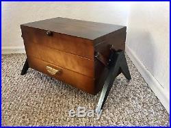 Sewing Basket Sewing Box Accordion Mid Century Knitting Storage Vintage Retro