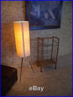 Stehlampe Tripod 50er 60er Lampe Vintage mid-century Stehleuchte Dreibein Retro