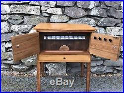 Stunning Mid Century Sewing Box Table Retro Vintage