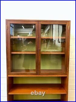Stunning Vintage G Plan Hairpin Teak Shelving Bookcase. Retro Mid Century