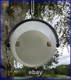 Temde Leuchten Mid Century German Pendant Ceiling Light 1970's Vintage Retro