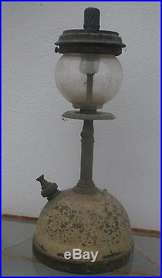 Tilley Table Lamp 16 inch high Gallery 182 ONION Globe Glass Brass NO Dents