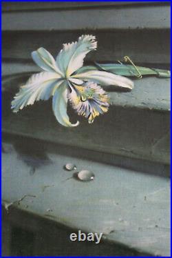 Tretchikoff'The Lost Orchid' Original 1948 Mid Century Modern Kitsch Print