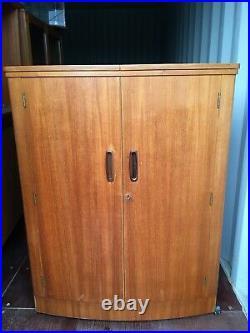 Turnidge London retro teak home cocktail bar drinks cabinet vintage mid century