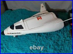 Ultra rare Gi joe DEFIANT full space shuttle complex 1987