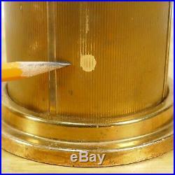 VINTAGE ART DECO TABLE CIGARETTE DISPENSER antique retro sputnik mid Century tin