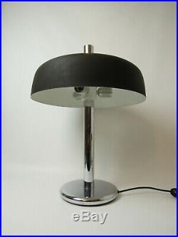 VINTAGE DESK BEDSIDE TABLE LAMP MID CENTURY DANISH MODERN BAUHAUS RETRO 60s 70s