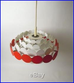 VINTAGE DORIA LAMP POP ART MID CENTURY MODERN SPUTNIK UFO RETRO SPACE AGE 50s