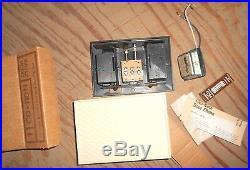 VINTAGE Mid Century NuTone DOOR Bell CHIME Builders CONTRACTOR KIT CD-110N NEW