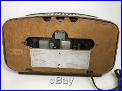 VINTAGE OLD 1950s EAMES ERA PACKARD BELL MID CENTURY MODERN RETRO ANTIQUE RADIO