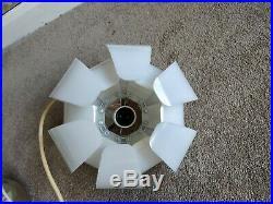 VINTAGE RETRO MID CENTURY 60s 70s LIGHT FITTING 3 TIER DESIGN