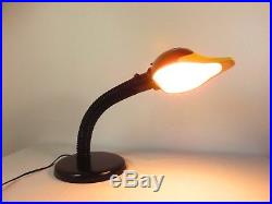 VTG George Kovacs CERAMIC DUCK HEAD GOOSENECK TABLE DESK LAMP Mid Century Retro