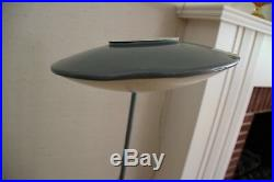 VTG HTF Dazor model No. 2010 saucer pole lamp mid century modern retro atomic