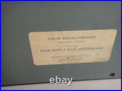 Valet Wall Mount Folding Mid Century Danish Modern Adam Hoff & Poul Ostergaard