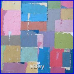 Very Large & Substantial Abstract Oil Painting Mid-Century Modern Vintage Retro