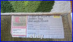 Very Rare Abstract MID Century Long Runner Rug Carpet Eames Panton 70s