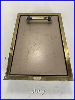 Vintage 1960s Hall Mack Counselor Concealed Bathroom Wall Scale