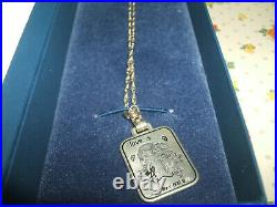 Vintage 1970s Love Is. For Ever and Ever Kim Casali 925 Silver Pendant & Chain
