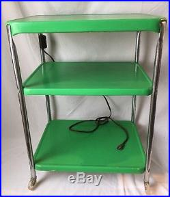 Vintage 3 Tier Kitchen Utility Cart