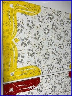 Vintage 50s Formica Table Top Salesman Sample Pieces RARE Set of 8 Mid Century