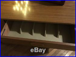 Vintage 60s/70s Schreiber Compact Sideboard Teak Veneer Mid-Century Retro