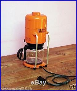Vintage BRAUN KF 20 Coffee Maker in Orange F. Seiffert Panton Era 1970s Germany