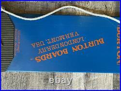 Vintage Burton DEMO BB1 Londonderry Snowboard $18k+ value